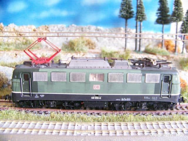 BR 140 013 verschmutzt mit Patchwork