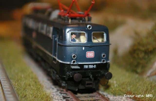 BR 110 150 unterschiedliche Führerstände mit 3 und 5 Lampen BW Köln