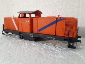 Umgestaltung Märklin V100 als Lok der Northrail