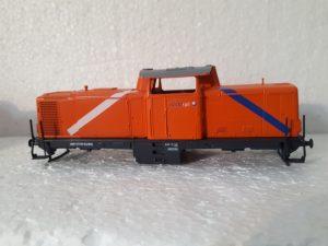 Umgestaltung Märklin V100 als Northrail