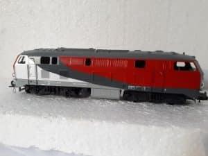 Basis Flm. BR 218 als Privatbahnlok NeSa