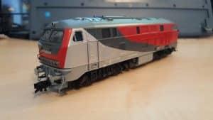BR 218 256 auf Basis Fleischmann 218.4