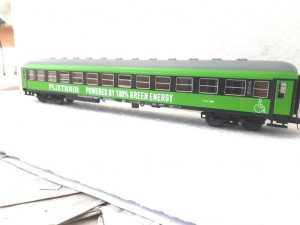 FLIXTRAIN, Powered by 100% Green Energy