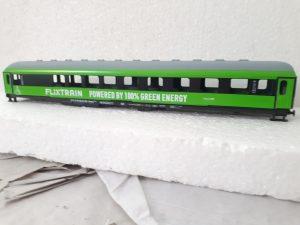 FLIXTRAIN Powered by 100% Green Energy Model