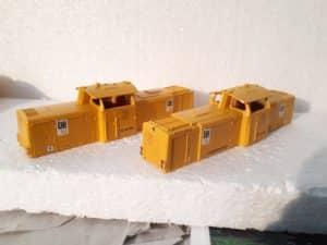 Umgestaltung 2 x BR 212 Märklin als Loks 5 und 6 Leonard Weiss