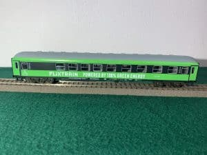 FLIXTRAIN Powered by 100% Green Energy Model 1:100