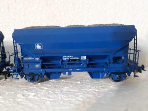 Fc Schotterwagen Press für den Schotterzug