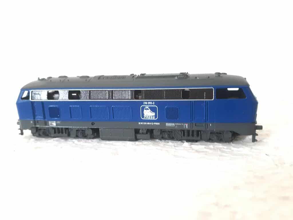 BR 218 055 PRESS