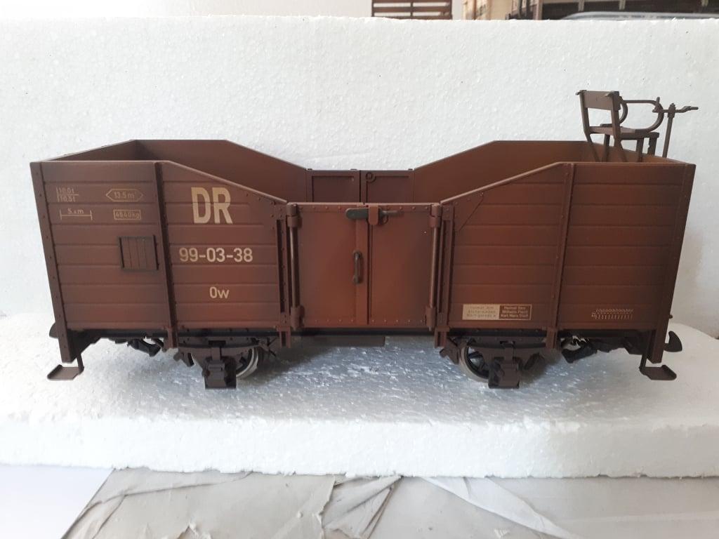 LBG offener Güterwagen DR gealtert