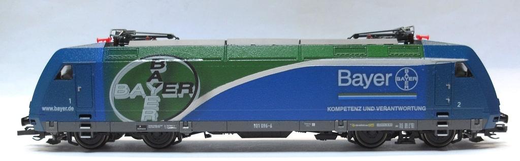 BR 101 096 auf Basis Tillig, Decals vom Kunden
