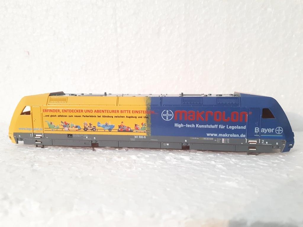 BR 101 100 Bayer Makrolon Legoland, Basis TT Tillig