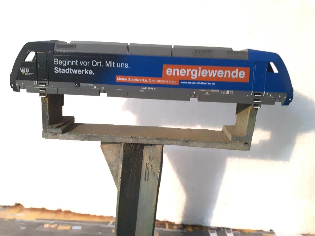 BR 101 100 Basismodell Tillig - Beschriftungen vom Kunden Energiewende