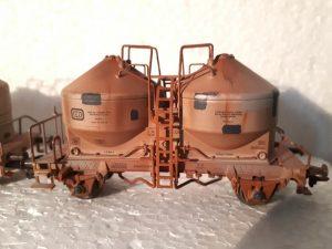 Spezialsilowagen Mohrenkopf für den Transport von nässeempfindlichen Gütern