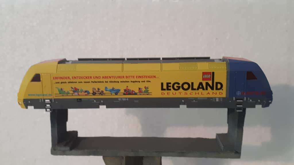 BR 101 110 DB Bayer Legoland Makrolon auf Basis TT Modell