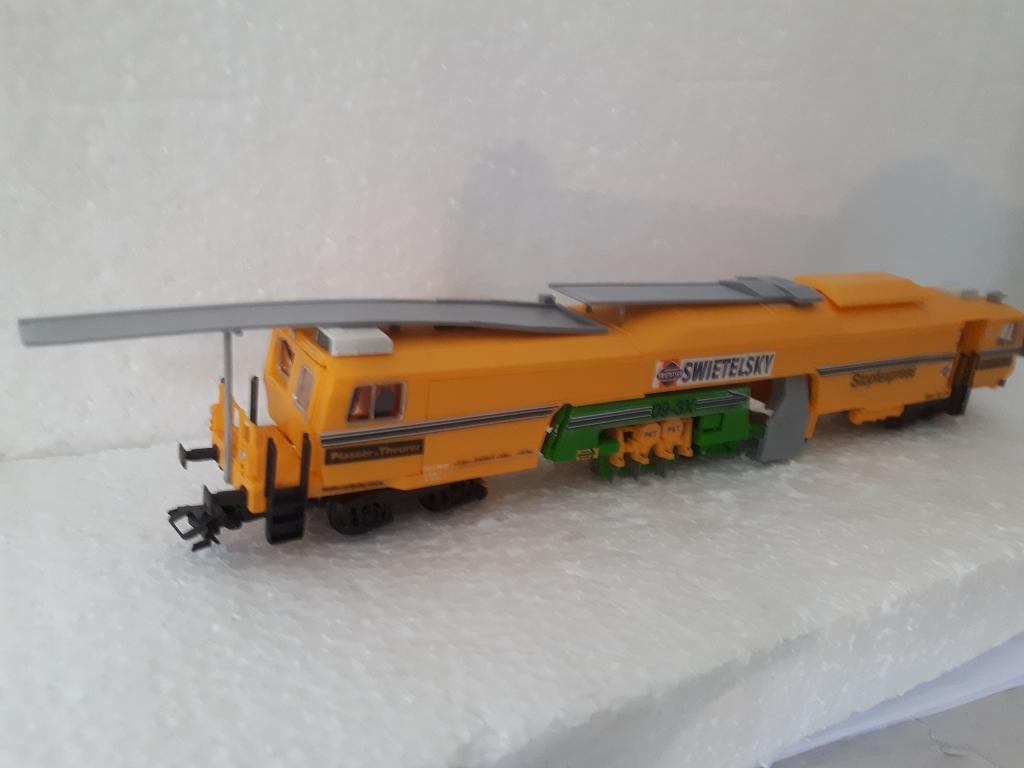 Umbau auf Basis Kibri Stopfexpress für den Gleisbauzug
